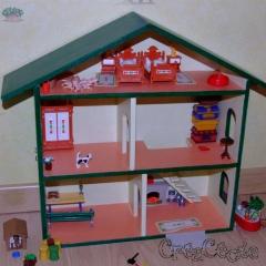 Maison de poupées format Playmobil