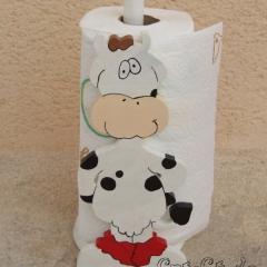 Porte-sopalin vache