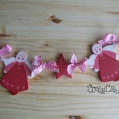 Ribambelle d'anges de Noël