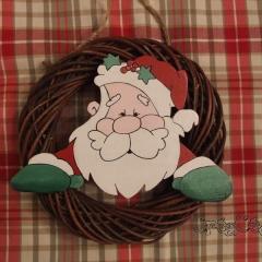 Couronne Père Noël