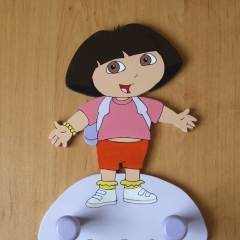 Patère Dora l'exploratrice